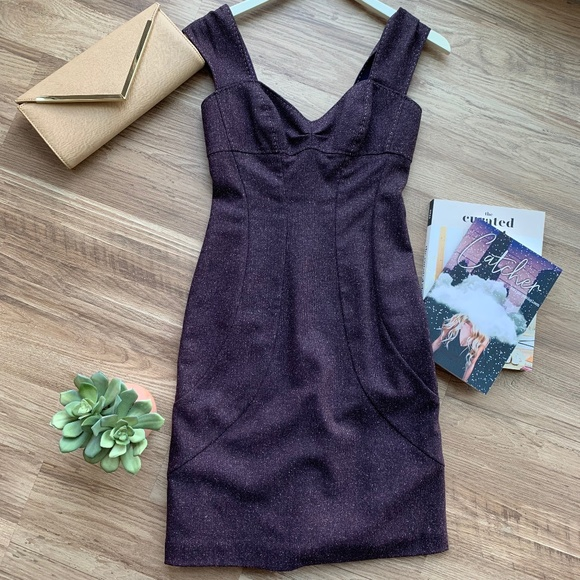 Rebecca Taylor Dresses & Skirts - Rebecca Taylor Dark Purple Sleeveless Dress